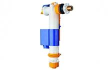 Torneira de boia com entrada lateral e inferior numa só torneira de boia. Fácil instalação e manutenção com filtro integrado sem necessidade de desligar da rede.
