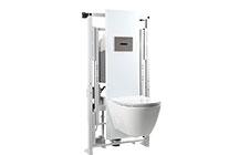 - A Easy Move é o pacote completo. Oferece uma solução esteticamente agradável e altamente funcional que permite o utilizador variar a altura da sanita através de um painel de controlo.
