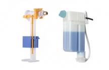 OLIpure é um sistema de armazenamento fechado que, a cada descarga, refresca a sua sanita com líquido de limpeza.