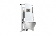 A Easy Move simplifica a vida das crianças, idosos e pessoas com mobilidade reduzida, permitindo um ajuste até 150mm da altura da louça sanitária com o utilizador sentado.
