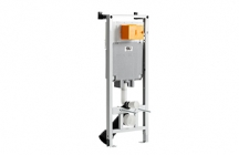 OLI80 Sanitarblock é compatível com todas as sanitas suspensas e para todos os tipos de aplicação (em paredes de alvenaria, paredes ligeiras ou calha técnica).