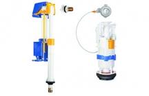 A torneira de boia, Azor Plus, tem um sistema de abertura retardada, apenas abre a água depois da válvula de descarga se fechar. Este sistema permite uma economia de água de até 0,5 litros em média a cada descarga total, resultando em uma economia m�