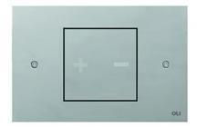La linea Ino-x è una collaborazione con l'architetto italiano Romano Adolini, una figura influente nel design del bagno. Il risultato è una semplice placca di comando, elegante, di forte impatto visivo: