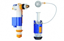IVC 100 is an inlet valve with both a bottom and side water supply in the same inlet valve. Easy to install and easy maintenance with an integrated filter that can be cleaned without disconnecting from the water connection.