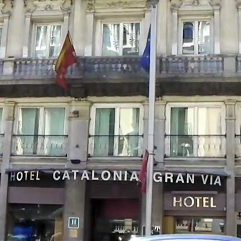 hotel catalonia gran via - madrid
