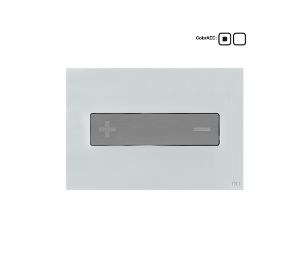 Oceania-Stainless-steel-button-glass-white