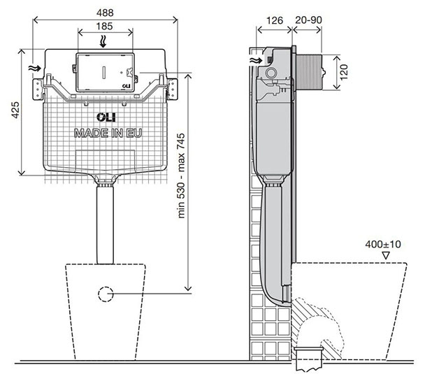Dimensioned-Drawing-OLI120-Plus