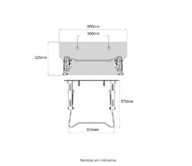 Desenho-Cotado-SUPORTE-BASCULANTE-Para-lavatório